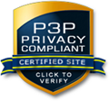 P3P Privacy Compliant
